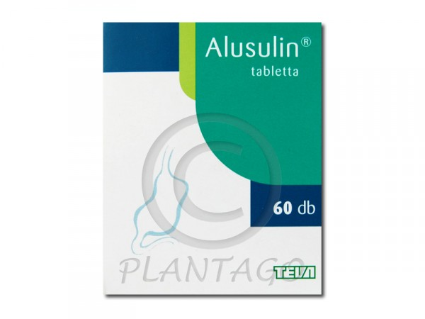 Alusulin tabletta 60x