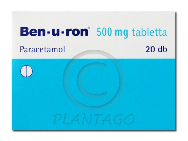 Ben-u-ron 500 mg tabletta 20x