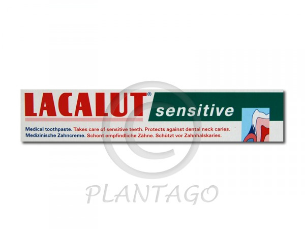 Lacalut fogkrém sensitive 75ml