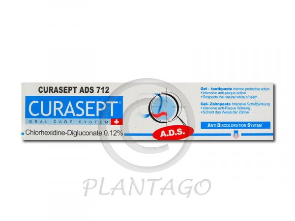 Curasept ADS 712 fogkrém 0,12% 75ml