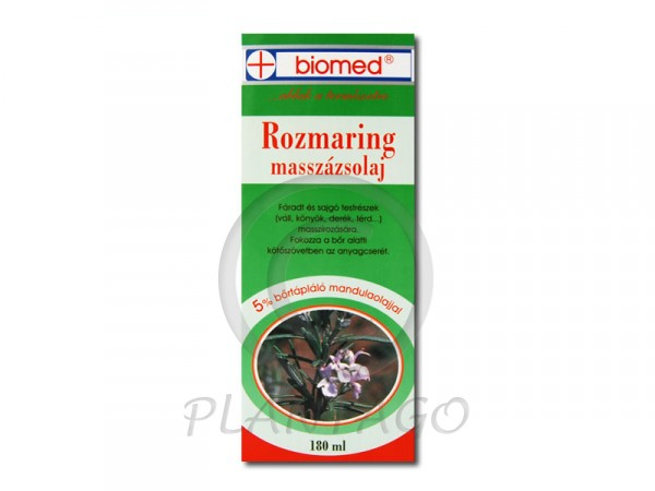 Biomed rozmaring masszázsolaj 180ml