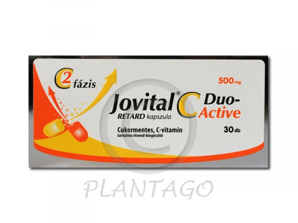 Jovital C-Duo Active 500mg retard kapszula 30x