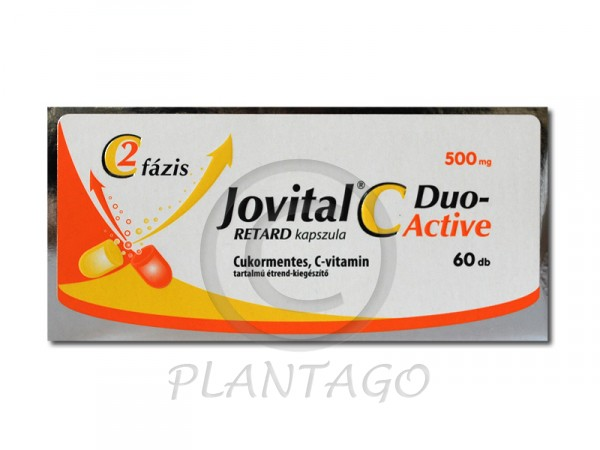 Jovital C-Duo Active 500mg retard kapszula 60x