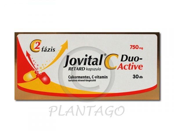 Jovital C-Duo Active 750mg retard kapszula 30x